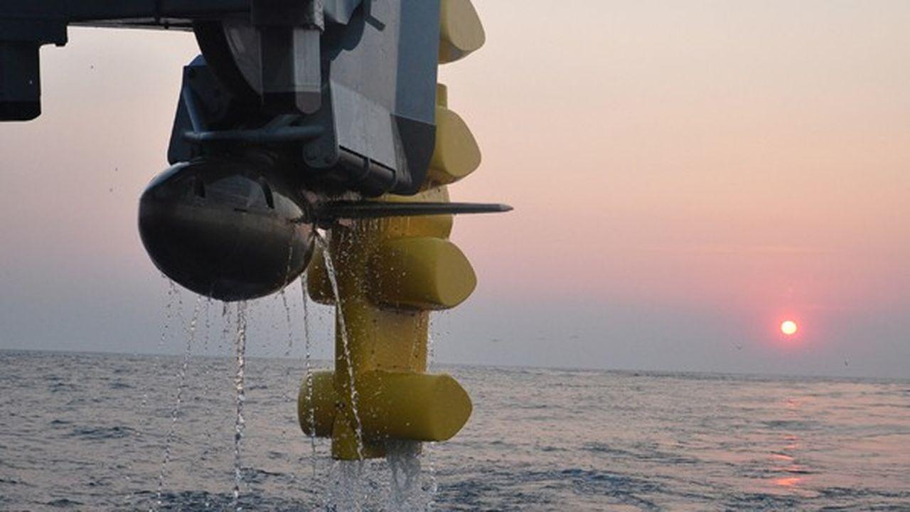 Le nouveau sonar remorqué Captas 4 de Thalespermet une détection de très longue portée avec une surface deux fois moindre que les sonars précédents