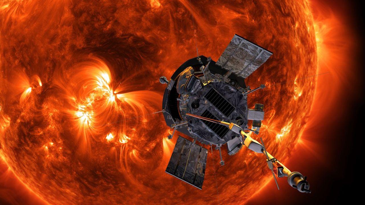 La sonde de la Nasa Parker Solar Probe.