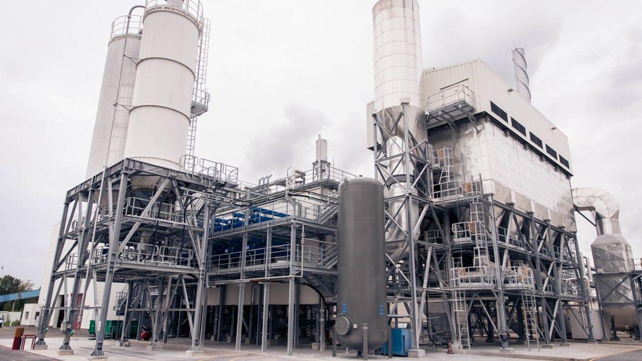 L'unité de valorisation remplace deux des quatre chaudières au gaz naturel nécessaires à la fourniture de vapeur pour ses processus de production.