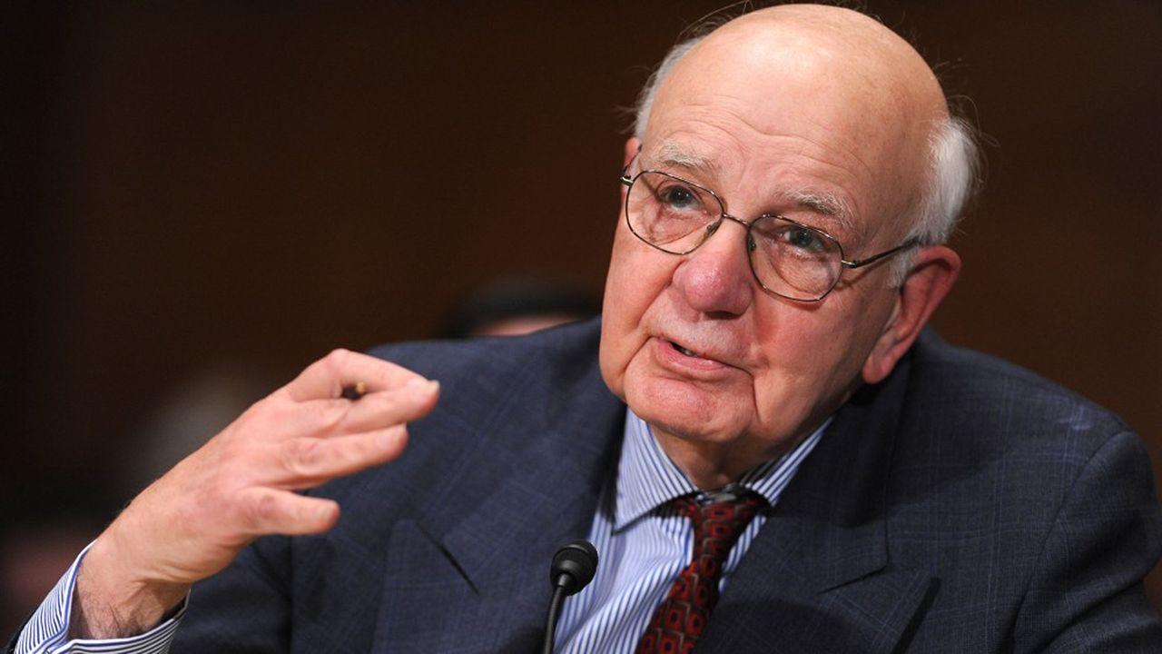 Paul Volcker, ancien président de la Fed.