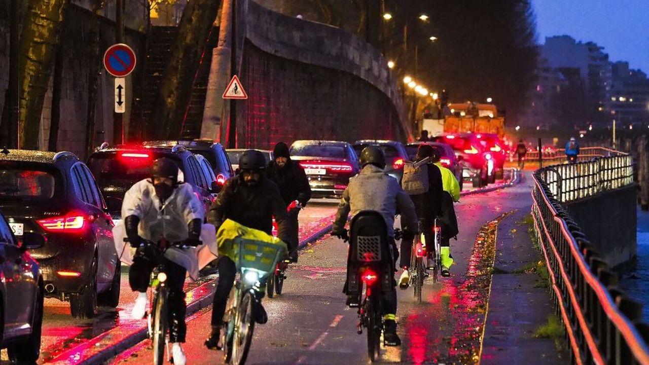 Vraiment plus d'accidents de deux-roues — Grève