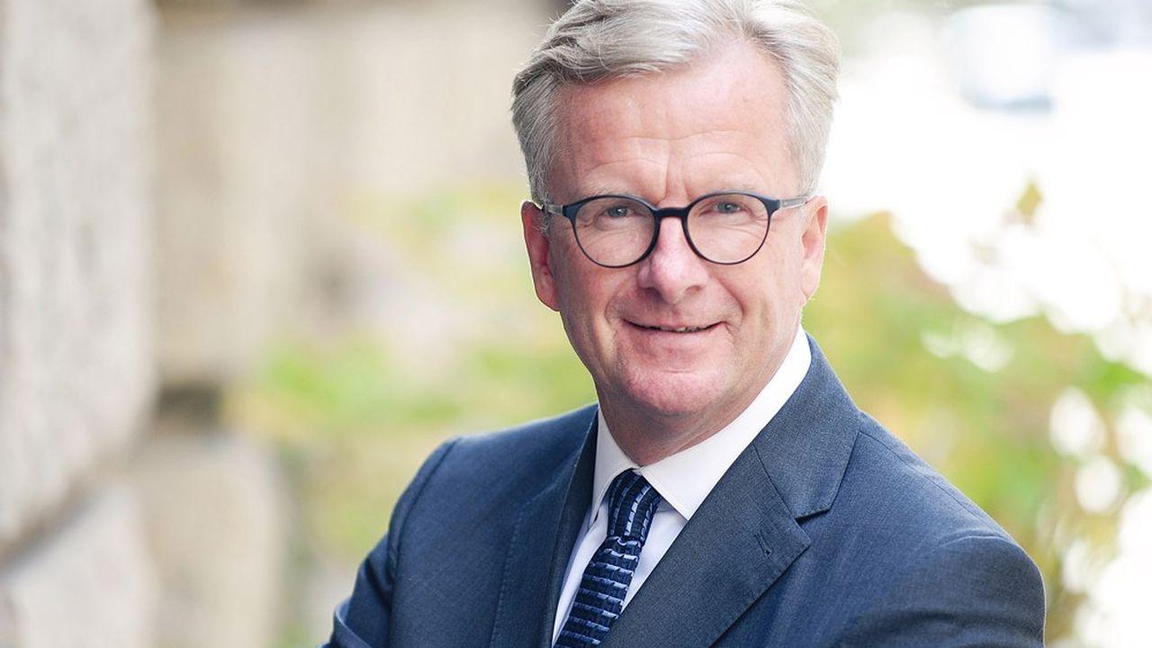 Holger Bingmann, président de la Fédération allemande du commerce de gros, du commerce extérieur et des services (BGA).