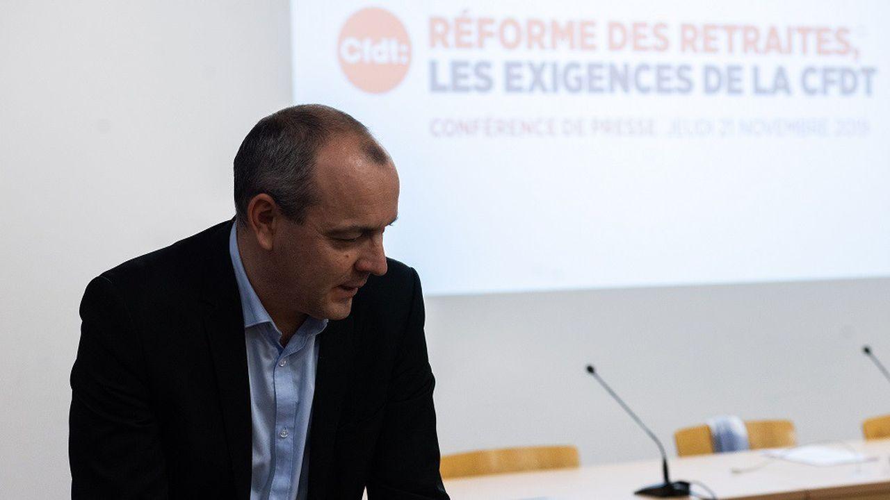 Laurent Berger a répété son opposition à la mise en place d'un «âge pivot» à 64 ans.
