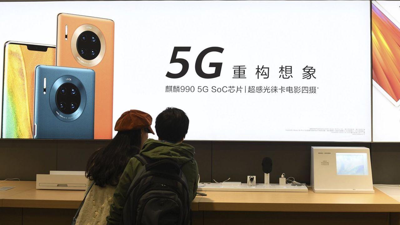 Le Bundestag examine un projet de loi qui, selon Pékin, pourraitexclure de l'équipement de l'Allemagne en 5G la société chinoise Huawei.