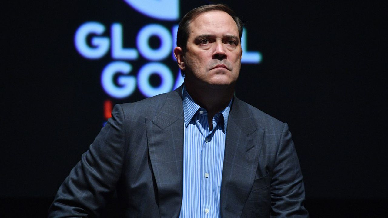 Le PDG de Cisco, Chuck Robbins.