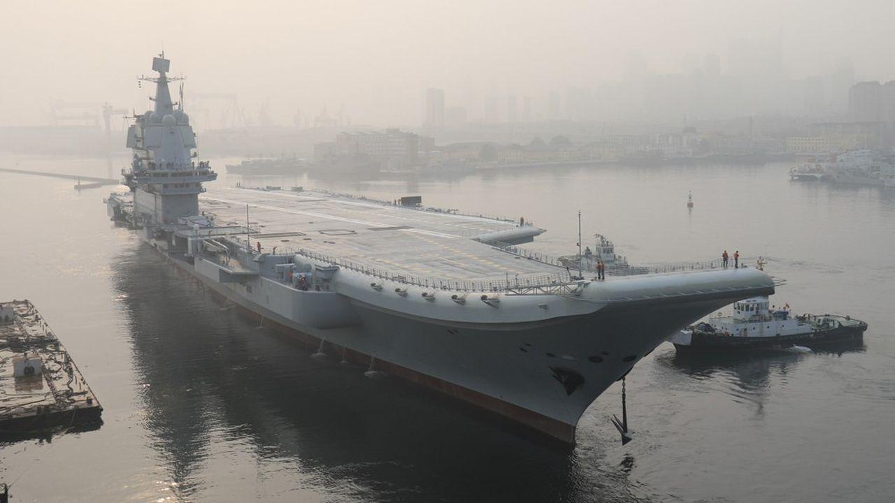 La Chine met en service son deuxième porte-avions, entièrement construit par les chantiers nationaux.