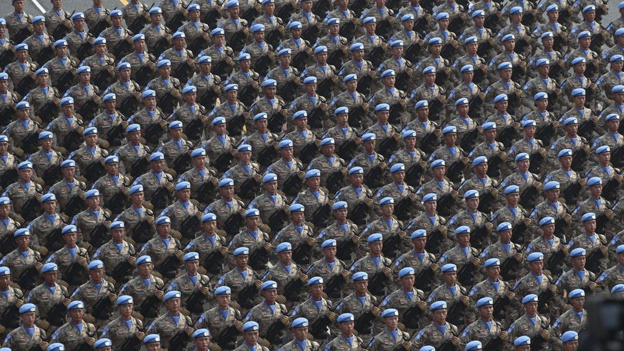 Parade militaire pour les 70 ans de la République populaire de Chine, octobre 2019