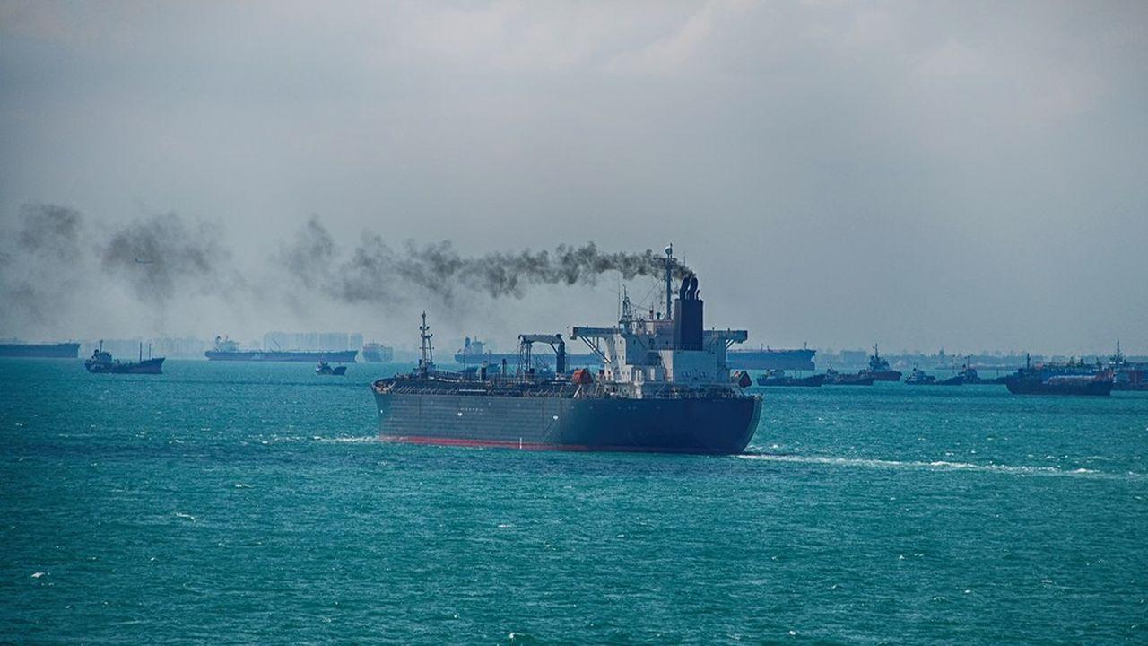 Le transport maritime émet environ 940millions de tonnes de CO2 par an.
