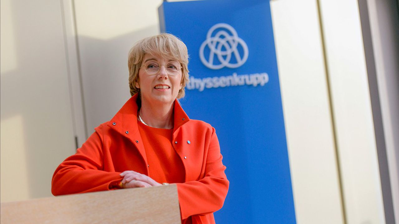 La nouvelle patronne de Thyssenkrupp, Martina Merz, dispose de douze mois pour résoudre la crise financière de son groupe.