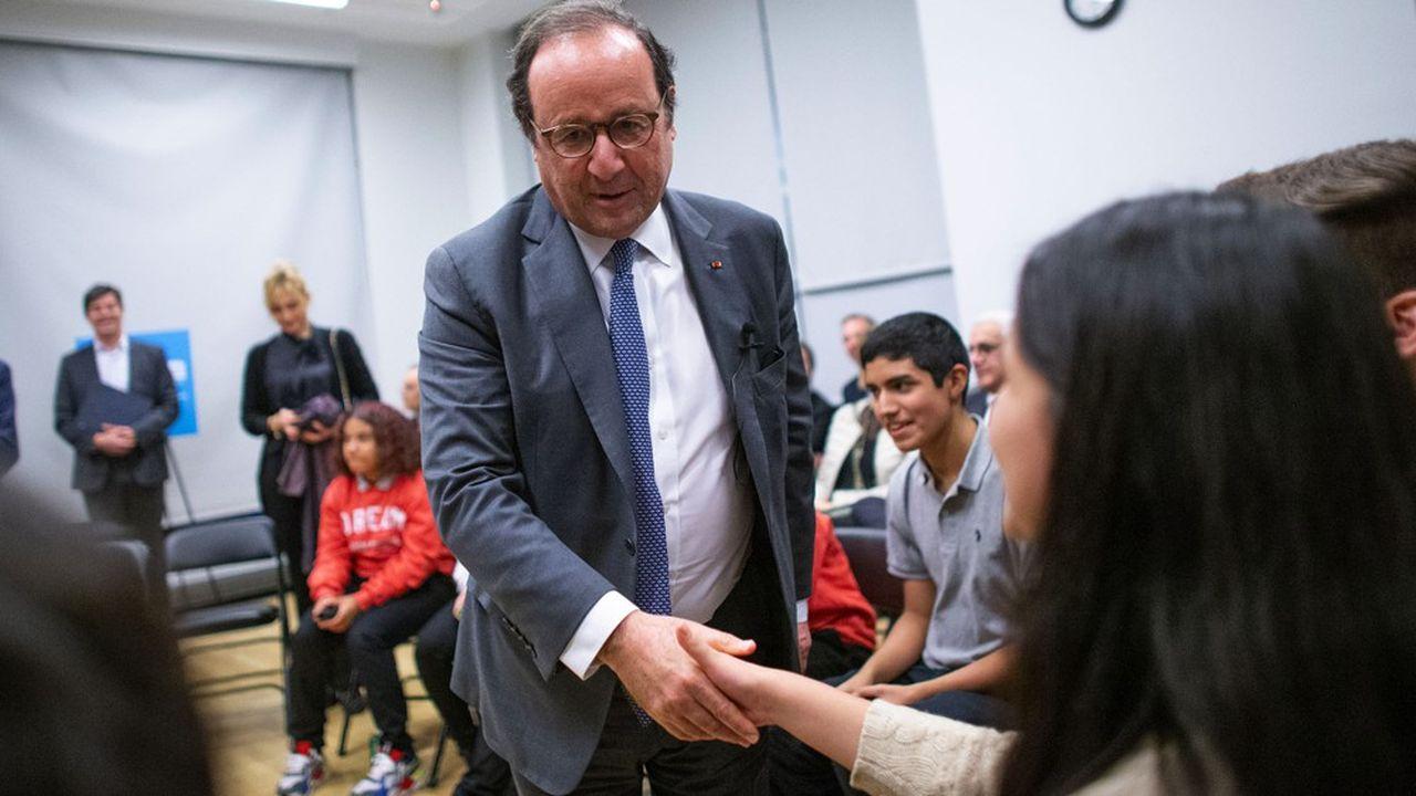 François Hollande lors d'un déplacement en novembre.