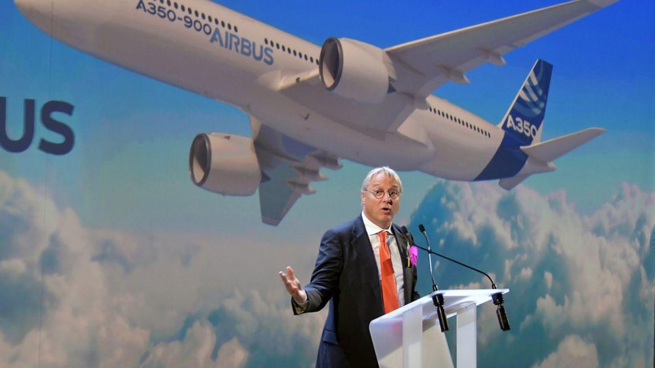 Nommé en septembre2018, le nouveau directeur commercial d'Airbus, Christian Scherer, affiche un premier bilan très positif.