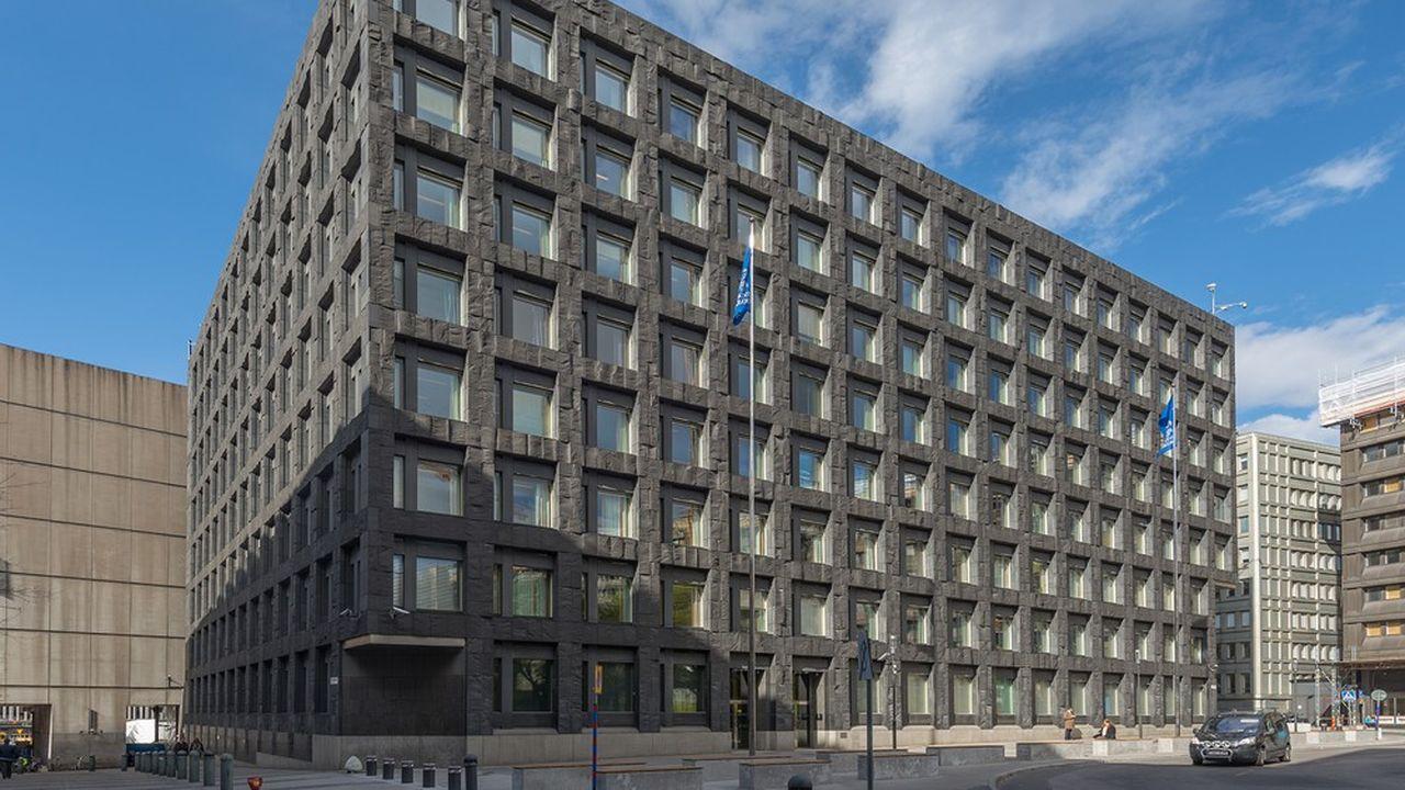 Le siège de la Sveriges Riksbank, à Stockholm, en 2015