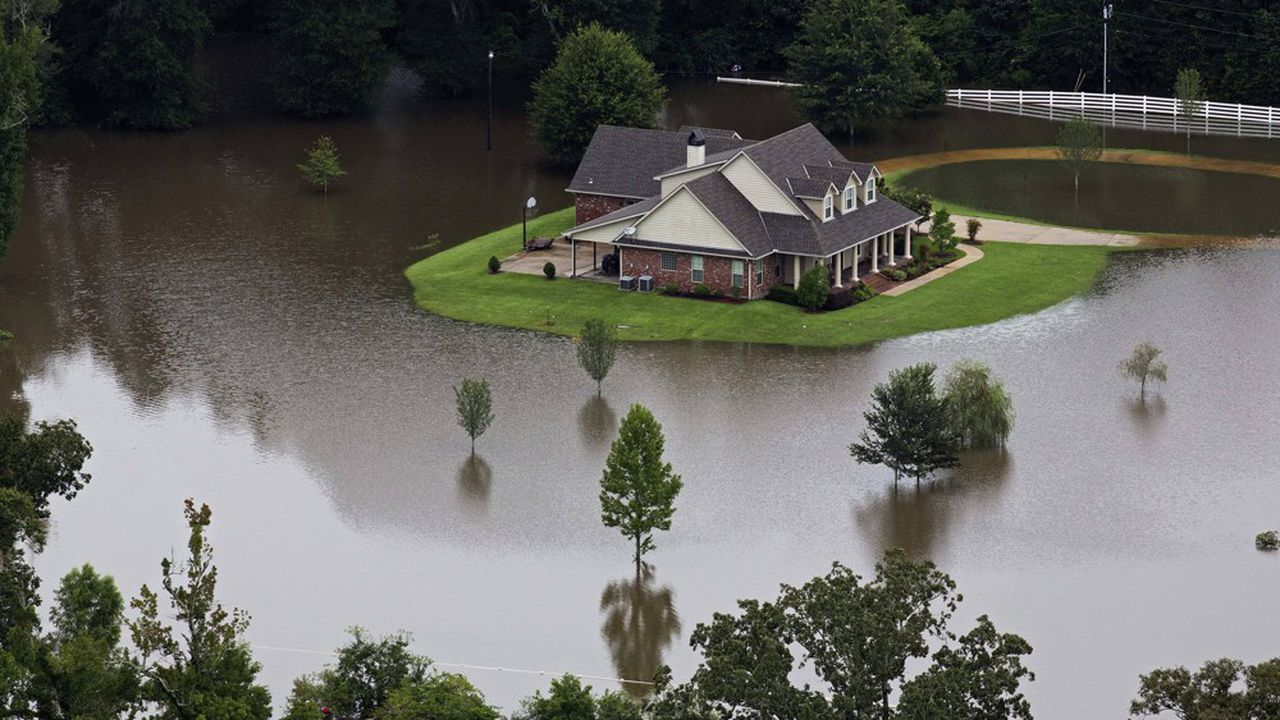 Innondations en Floride, juillet 2019.