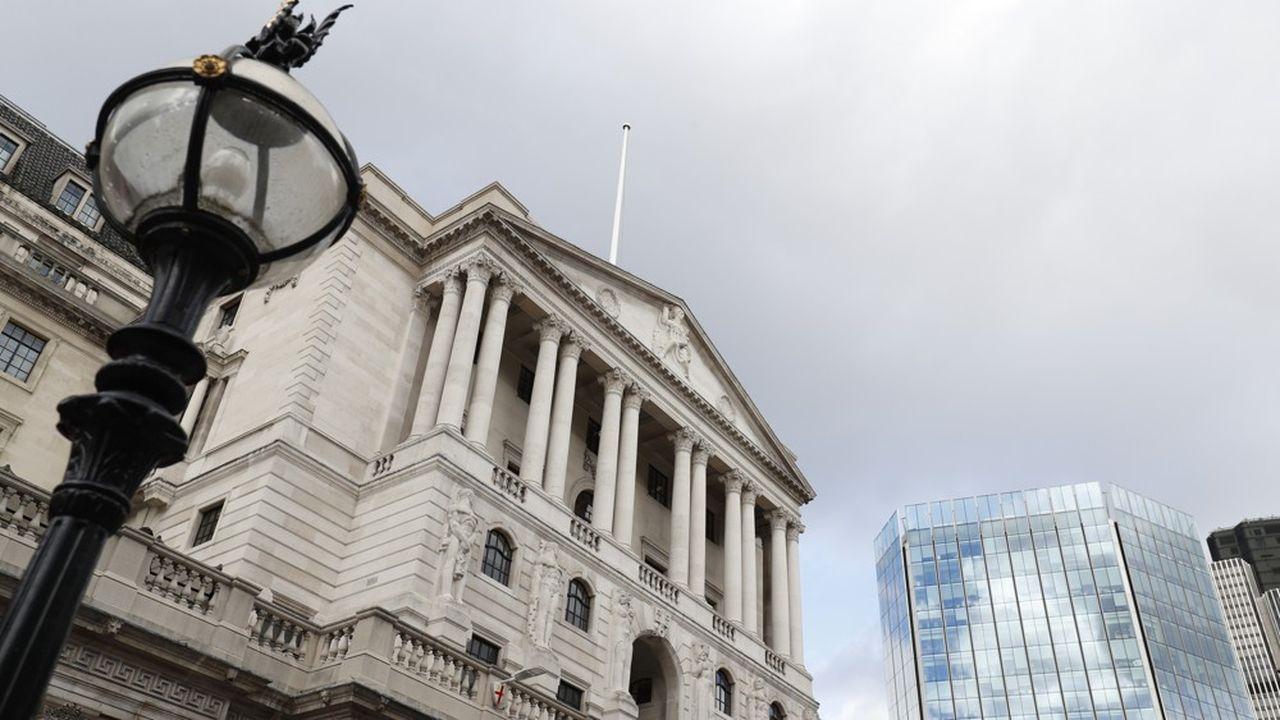 Le siège de la Banque d'Angleterre