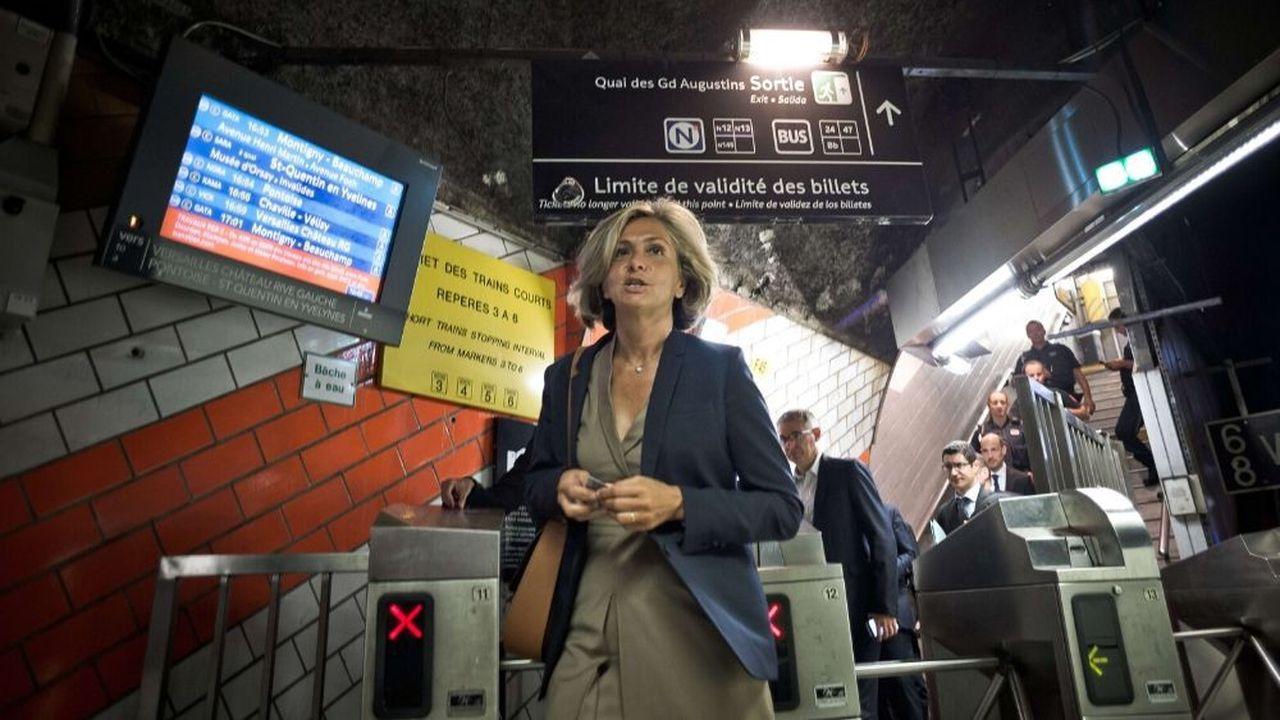 La RATP et la SNCF doivent rembourser les voyageurs «car c'est juste une souffrance inexprimable», estime Valérie Pécresse.