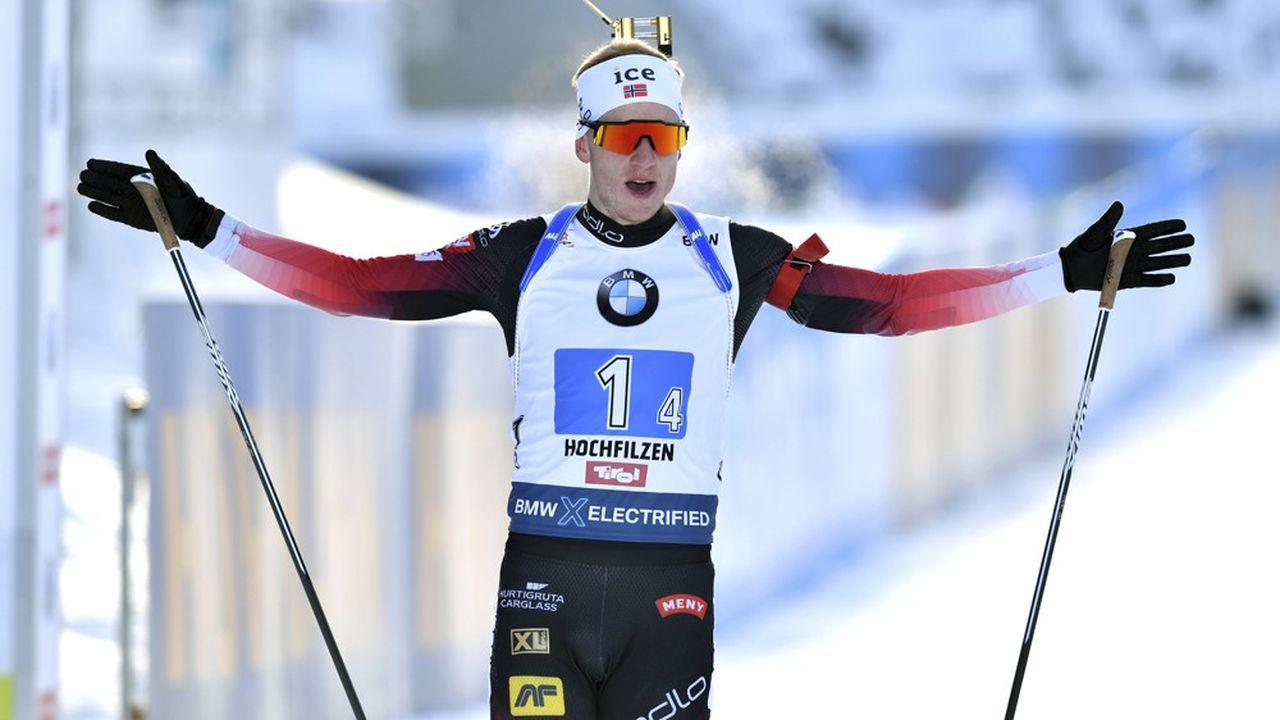 Le Norvégien Johannes Boe, tenant de la Coupe du monde, est leader du classement général avec trois victoires en quatre courses.
