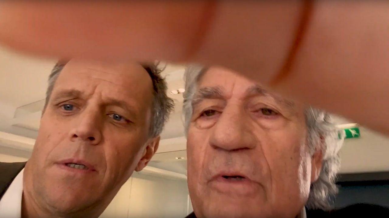 A l'occasion de la présentation des voeux de Publicis pour 2020, le numéro de duettistes incompétents de Maurice Lévy et Arthur Sadoun, dans la veine des Marx Brothers, est parfaitement convaincant.