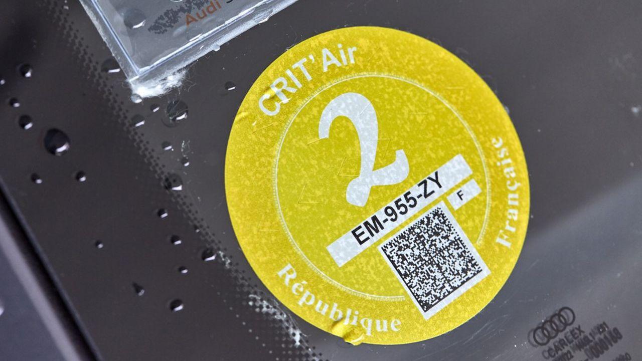 Les voitures éligibles à la vignette Crit'air 2 sont les plus nombreuses (33% des voitures) et réalisent 40% du trafic.