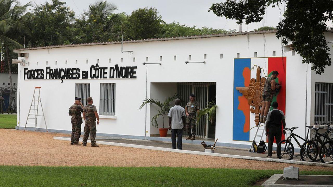 La base de Port-Bouet, en Côte d'Ivoire, est l'une des deux principales du dispositif militaire français hors du territoire national.