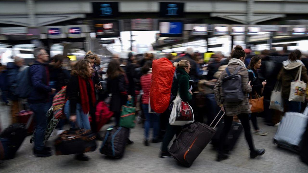 Dans le détail, 52% des voyageurs ont vu leur trajet confirmé tandis que 48% devront échanger leur billet.
