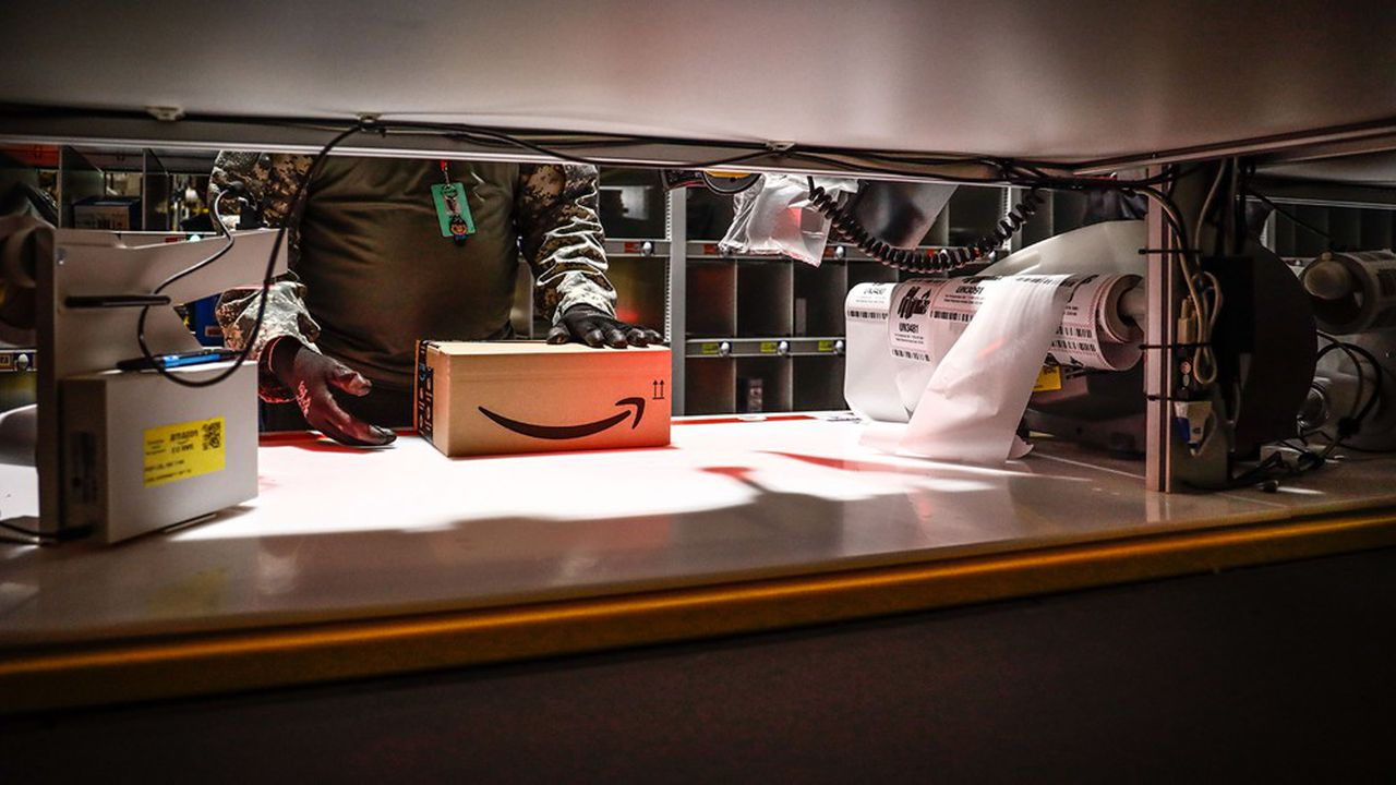Amazon devrait livrer quelque 3,5milliards de colis par ses propres moyens en 2019.