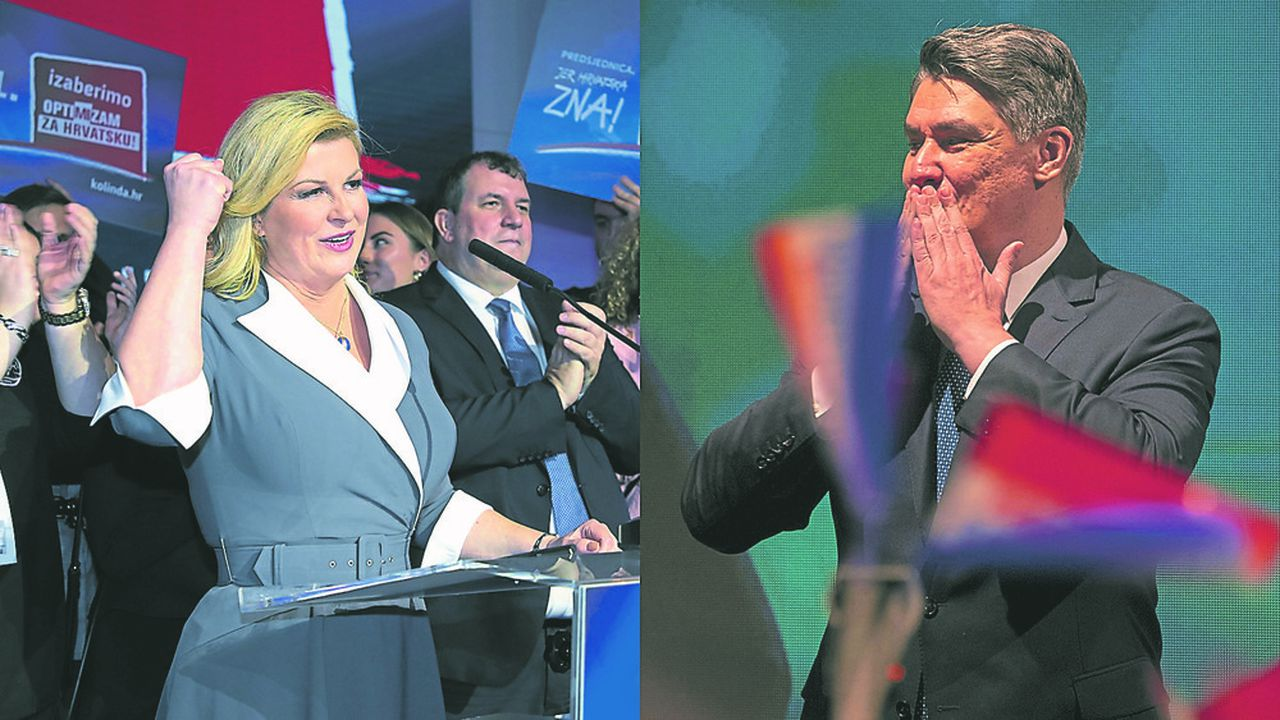 Kolinda Grabar-Kitarovic affrontera Zoran Milanovic au second tour de la présidentielle croate.