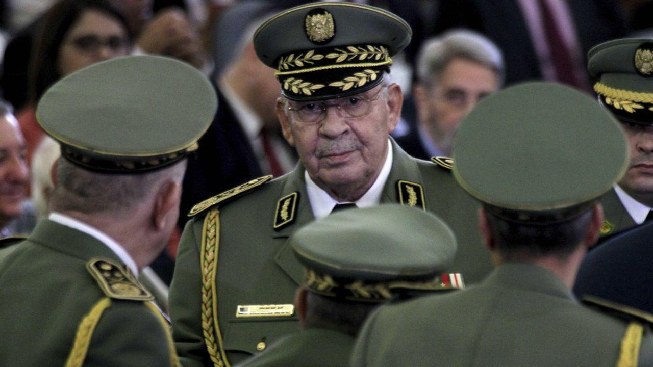Ahmed Gaïd Salah, 79 ans, était le chef de la junte militaire algérienne depuis l'éviction d'Abdelazziz Bouteflika en avril.
