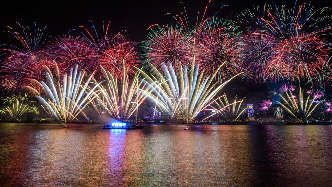 C'est la première fois en dix ans que la baie de Hong Kong ne sera pas illuminée par des feux d'artifice à l'occasion du passage à la nouvelle année.