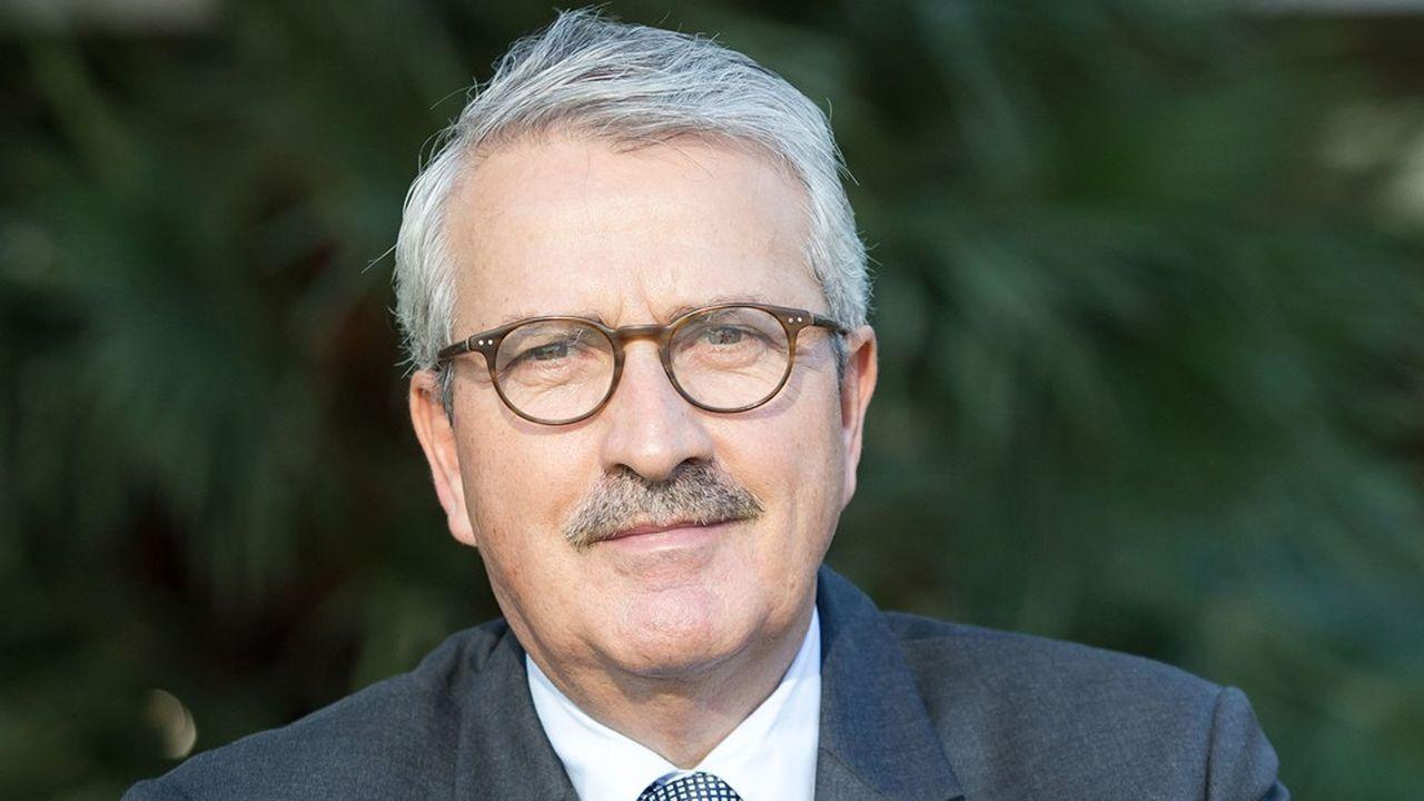 François Hurel, président de l'Union des autoentrepreneurs (UAE).