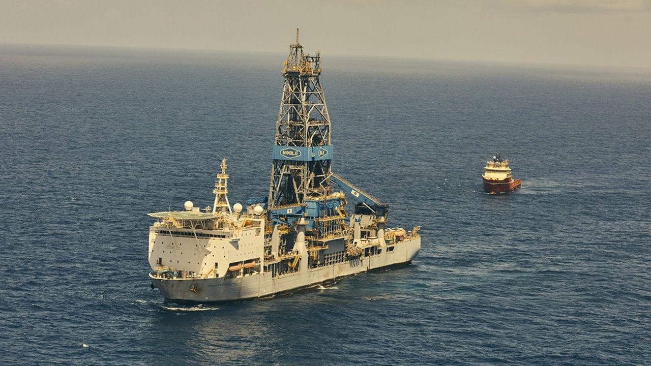 Exxon et ses partenaires prévoient de produire plus de 750.000barils de pétrole par jour d'ici à2025 à partir de cinq plates-formes flottantes.