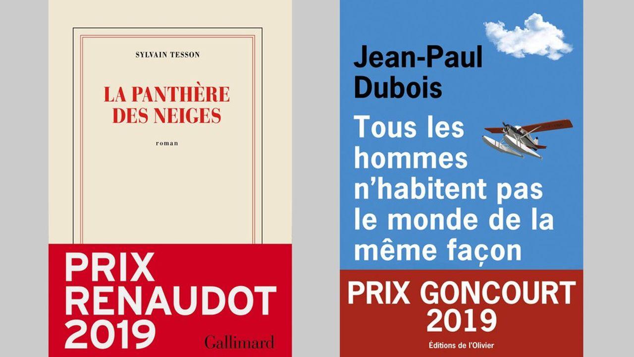 Avec 228.169 exemplaires vendus, le Goncourt attribué à Jean-Paul Dubois, comme le Renaudot décerné à Sylvain Tesson (227.140 ex.) ont témoigné encore de la force de prescription des Prix.