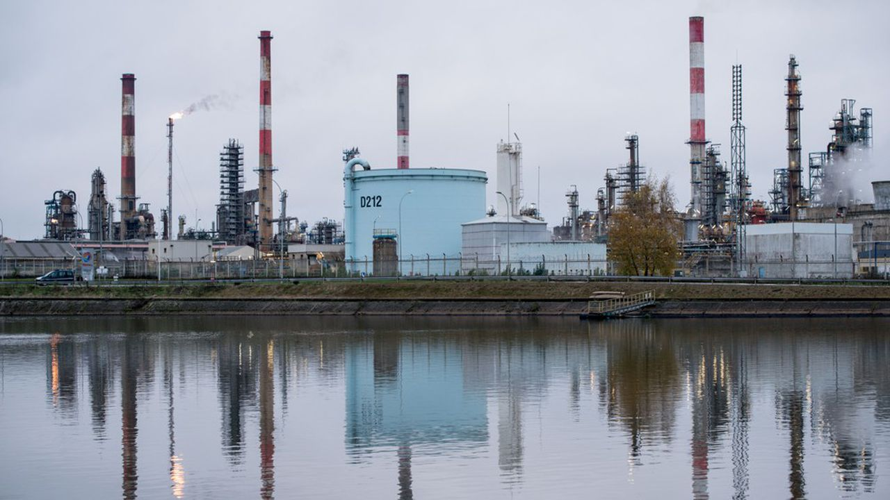 Une assemblée générale a voté lundi l'arrêt de la production sur le site de Total à Grandpuits, en Seine-et-Marne.