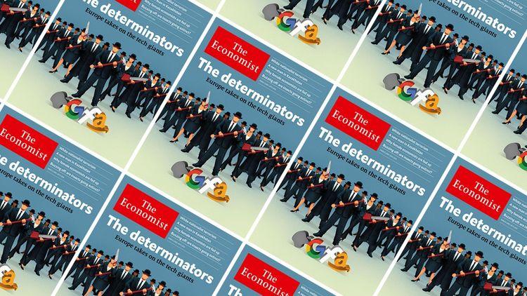 La Une de l'hebdomadaire britannique «The Economist» en mars2019