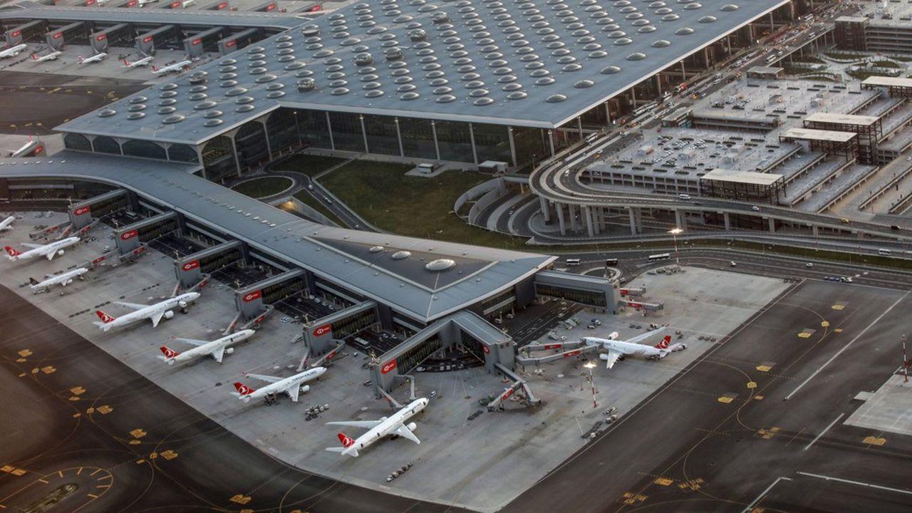 TAV Airports filiale du Groupe ADP n'a pas obtenu la concession d'exploitation du nouvel aéroport d'Istanbul ici
