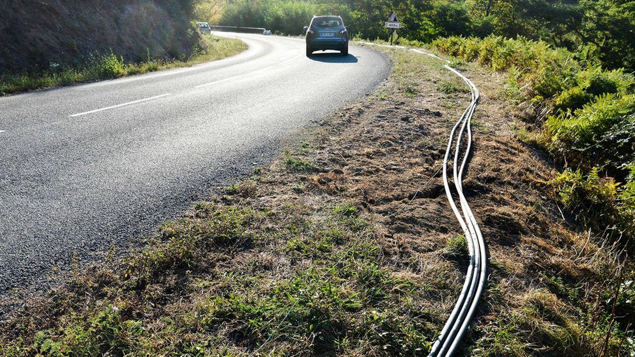 Le déploiement de la fibre optique bat son plein, avec plus de 4millions de lignes déployées chaque année.