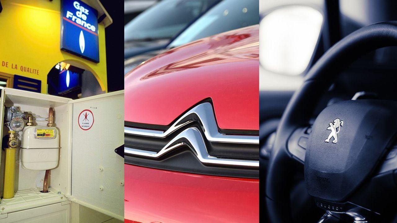 En 1999, Gaz de France caracolait en tête du baromètre d'image. En 2019, ce sont Citroën et Peugeot qui se partagent la première marche du podium.