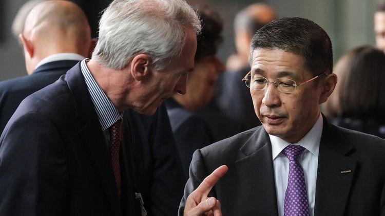 Jean-Dominique Senard ne décolère pas. Ce mardi, son visage fait la manchette des « Echos », avec celui de Hiroto Saikawa, le directeur général de Nissan