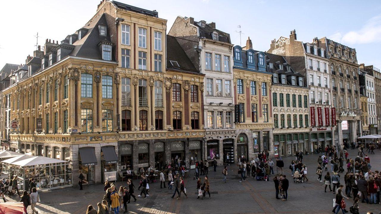 A Lille, les loyers ont flambé de 70 % en dix ans, entre 2000 et 2012, soit plus vite que la moyenne nationale.