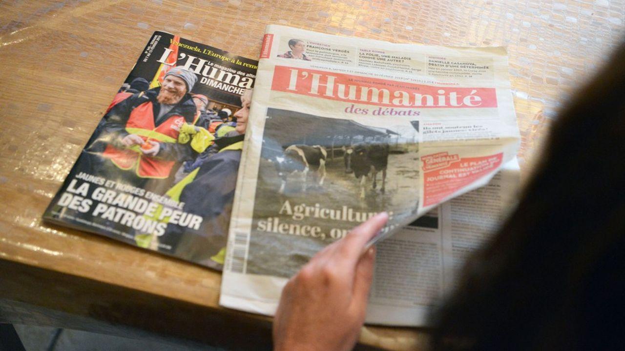 «L'Huma» avait été placé en redressement judiciaire en février.