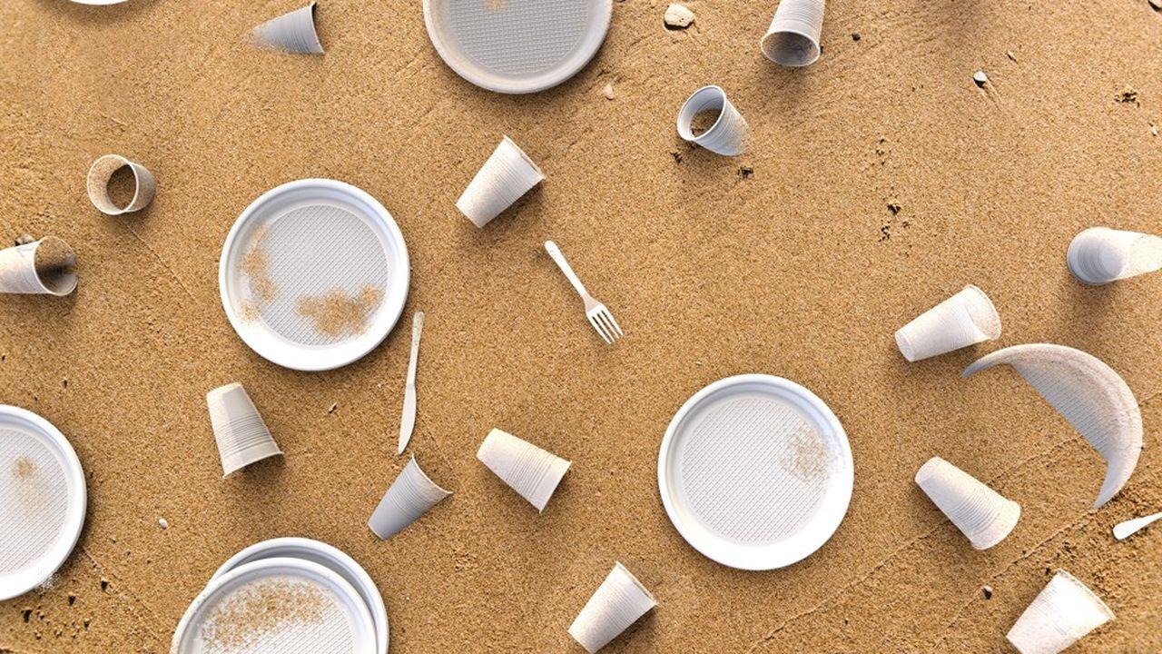 En Europe, 10% des matières plastiques sont à usage unique