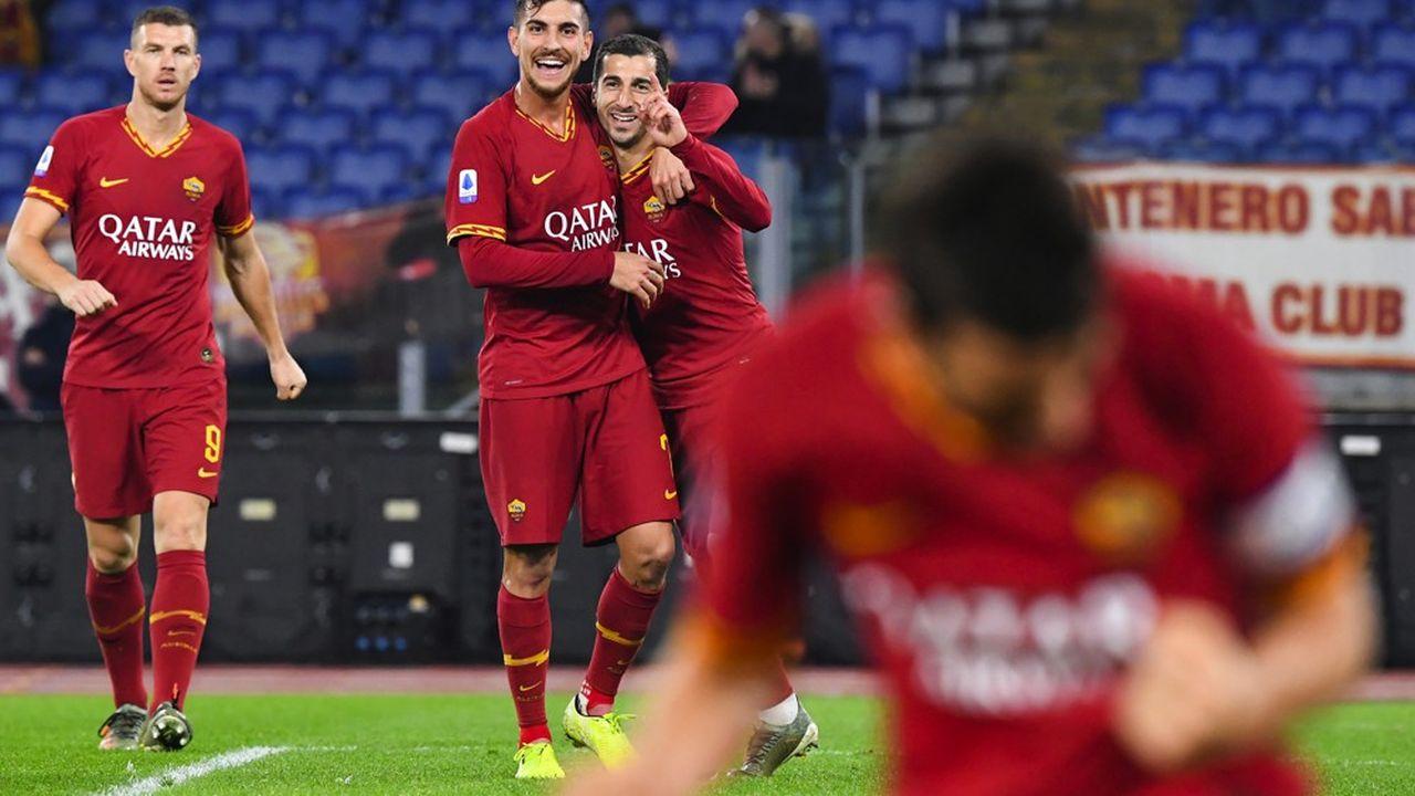 Le bilan sportif de l'AS Roma depuis le rachat du club en 2012 par l'Américain James Pallotta est des plus maigres, avec une demi-finale de Ligue des champions en2018, mais sans aucun trophée. (Photo by Andreas SOLARO / AFP)