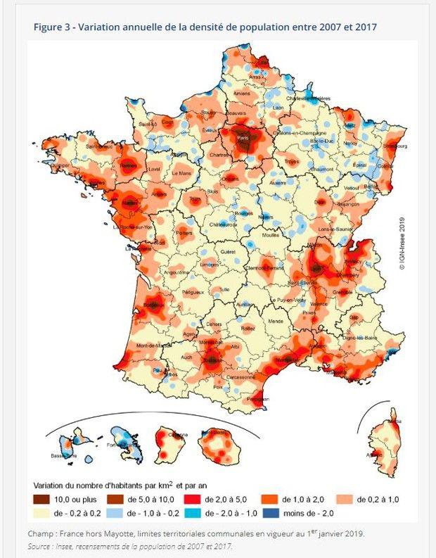 Les Français s'installent proches de villes attractives comme Nantes, Bordeaux, Toulouse ou Montpellier