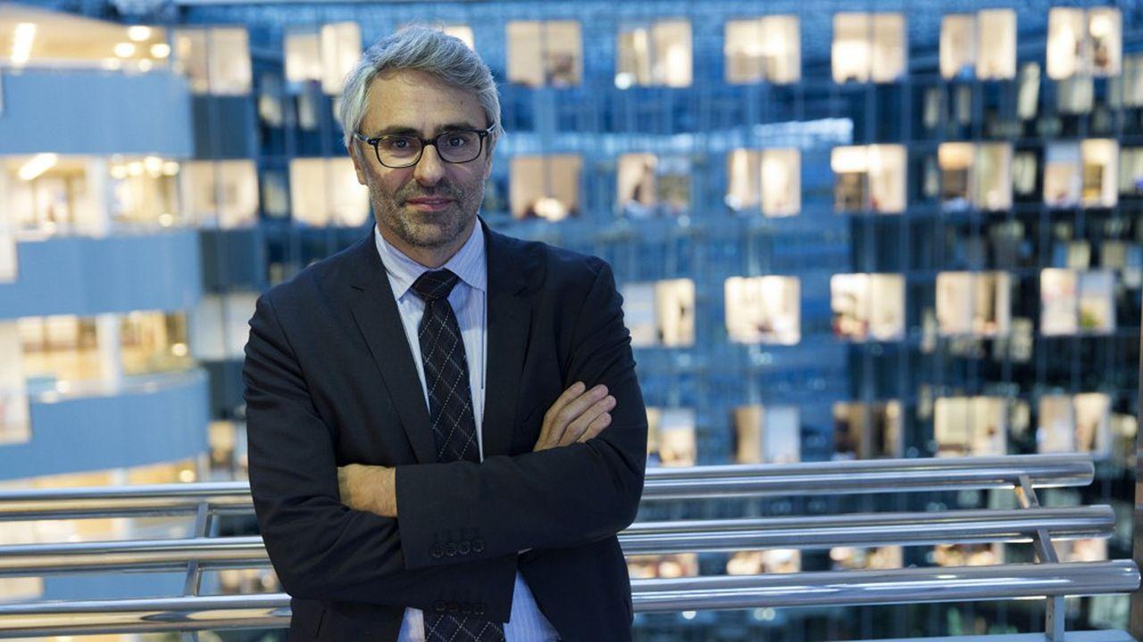 Pascal Saint Amans, directeur du Centre de Politique et d'Administration Fiscale a L'OCDE, surveille de près l'élaboration d'une fiscalité mondiale des géants du numérique.