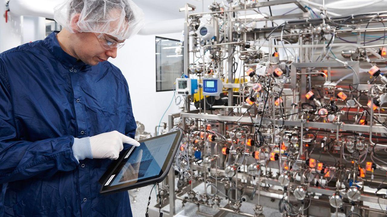 Les laboratoires se sont emparés de l'intelligence artificielle dans la production comme chez Sanofi à Framingham, à côté de Boston.