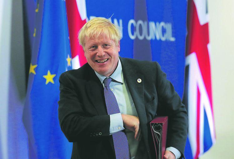 «Nous avons un formidable nouvel accord», annonce triomphalement Boris Johnson, à quelques jours de la date du Brexit.