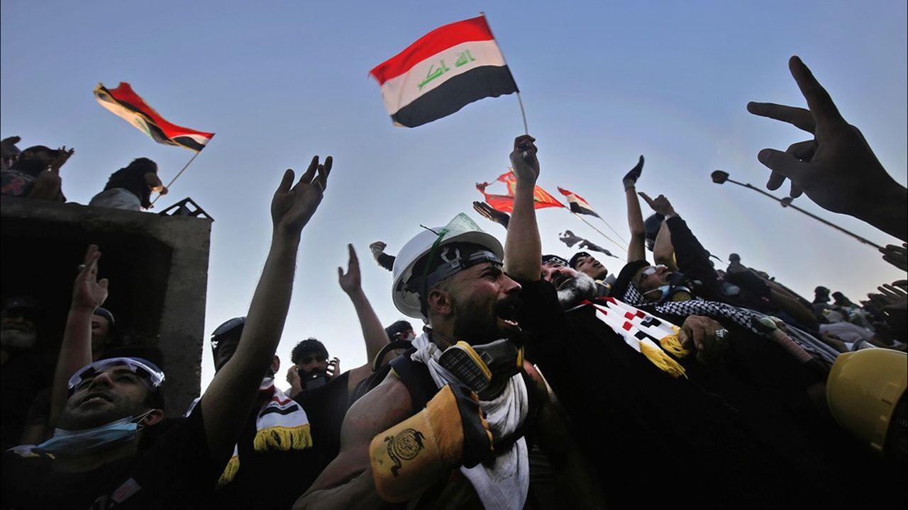 En Irak, une contestation débuté le 1eroctobre 2019, notamment contre la corruption et le chômage, a dégénéré en grave crise politique.