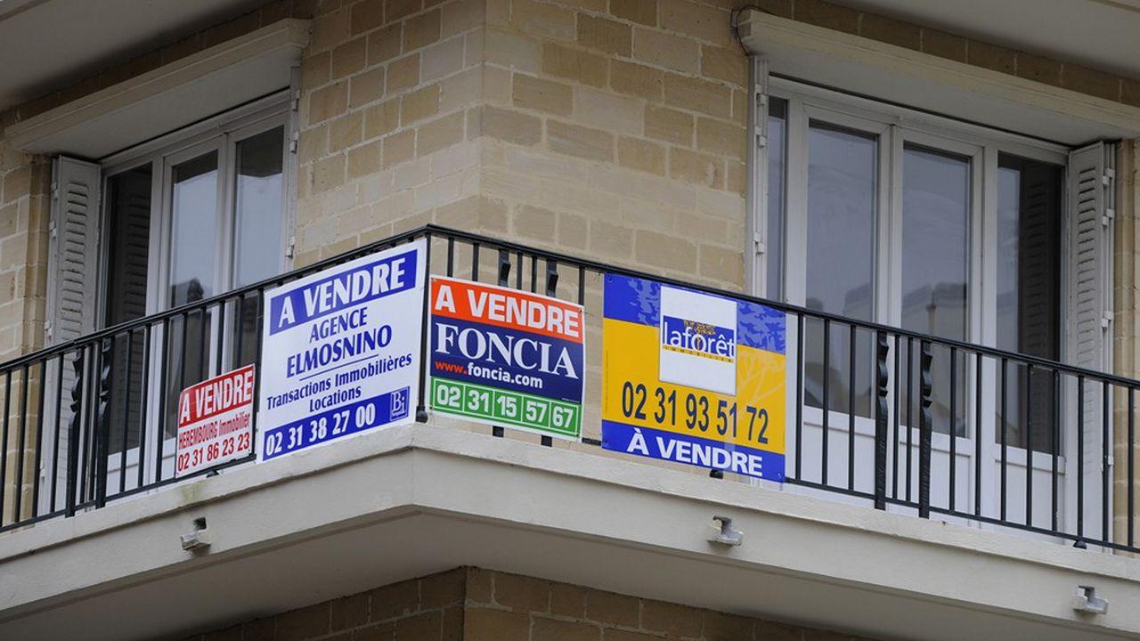 Aujourd'hui, les taux bas portent le marché de l'immobilier.