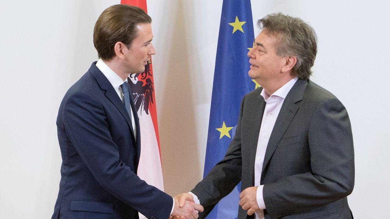 Les chefs de file des conservateurs et des Verts, Sebastian Kurz et Werner Kogler, sont parvenus à un accord après d'ultimes négociations au jour de l'An.