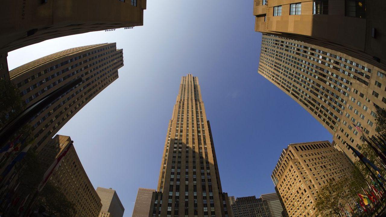 Le Rockefeller Center, siège new-yorkais de la banque franco-américaine Lazard