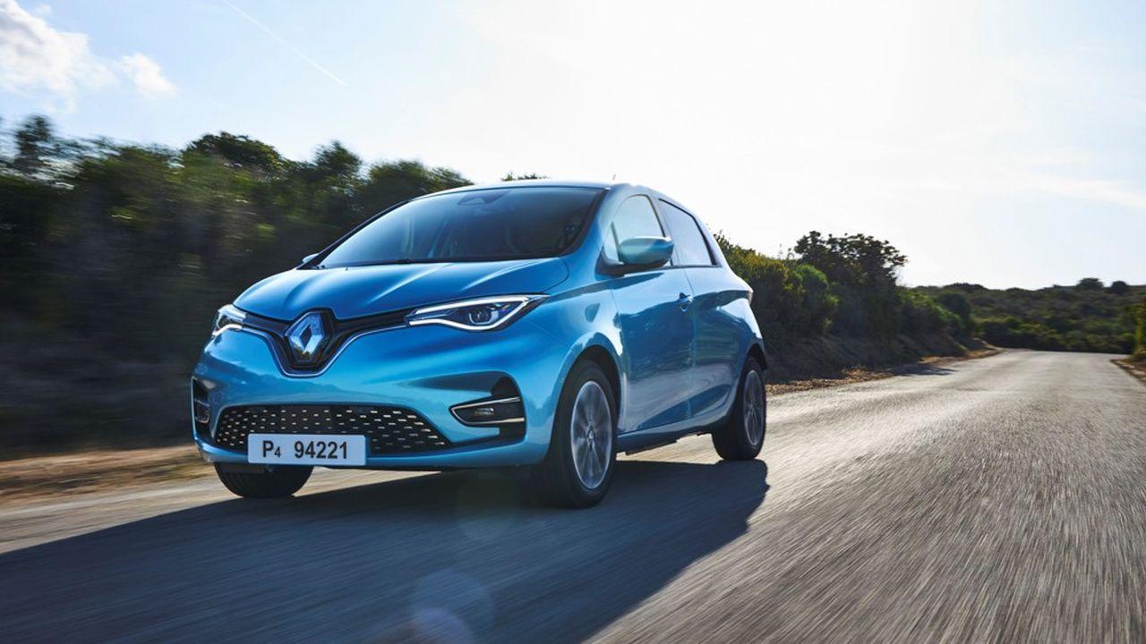 En France, le marché du véhicule électrique va être animé par l'arrivée de nombreux nouveaux modèles, qui vont venir concurrencer la Renault Zoé, leader l'an dernier avec 18.800 véhicules vendus.